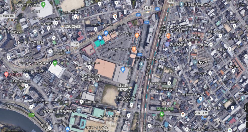 福岡市博多区堅粕 1階テナント物件  N-H555