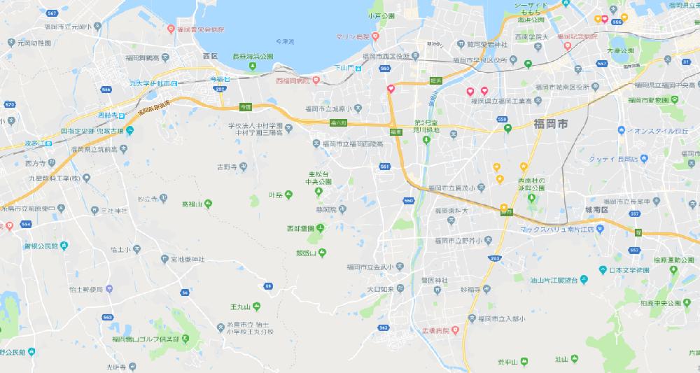 福岡市西エリア 整形外科 継承物件 N-K315